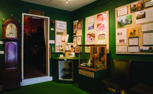 Documents, information and artifacts in the Green Room